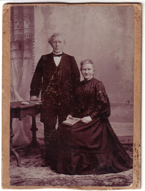 Hendrik Snijder en Maria Magdalena Donker