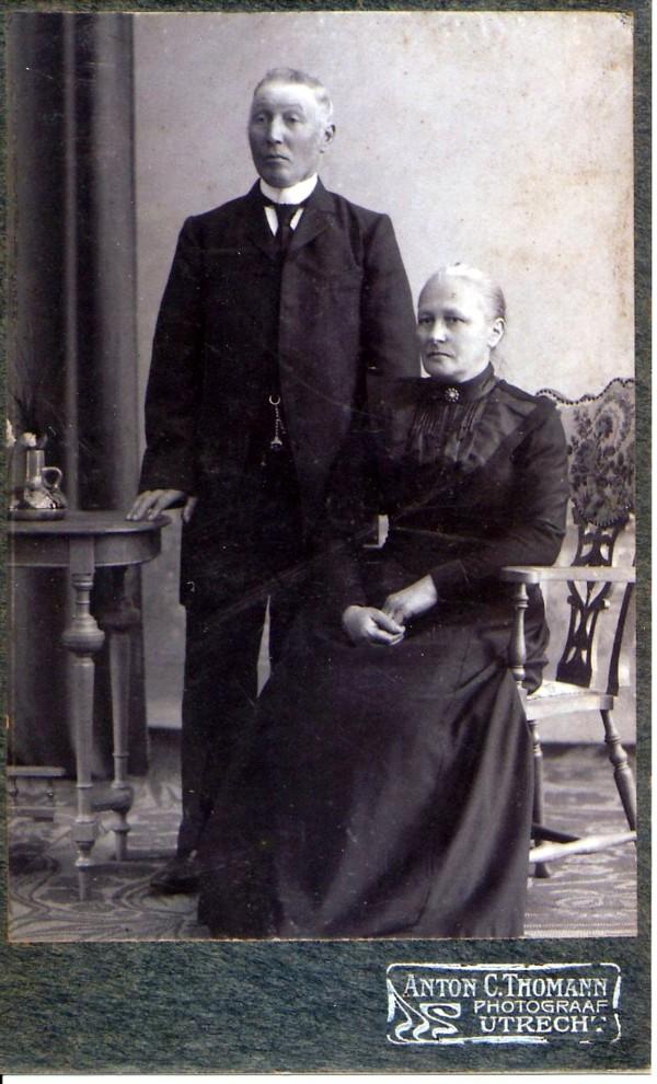 Aart Johannes Oosterbroek en Adriana de Winter