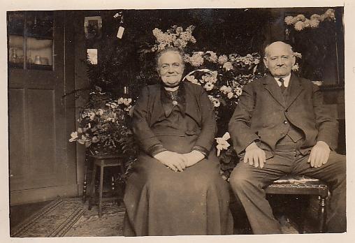 Grada Johanna van der Heijden en Johannes Martinus Lengers
