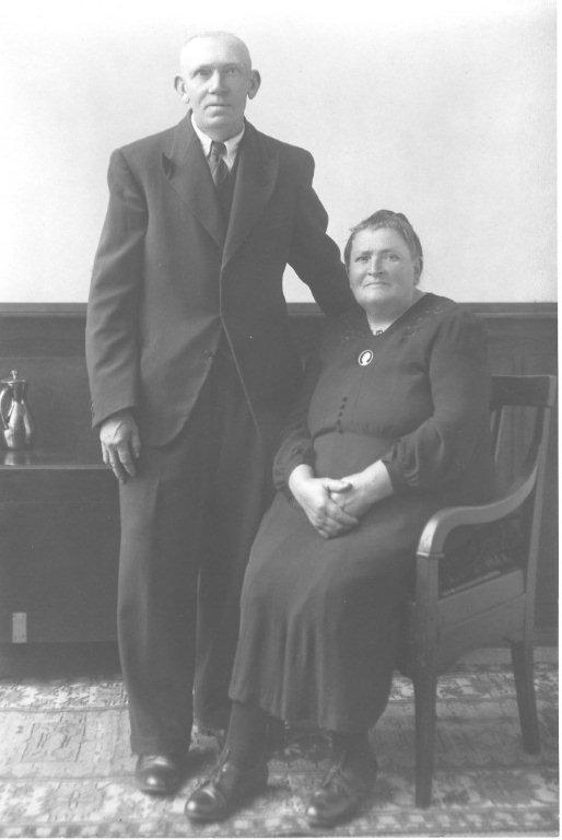 Jan van Wijngaarden en Jacoba de Groot