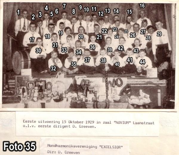 Baarnsche Mondharmonica Vereniging BMV Excelsior
