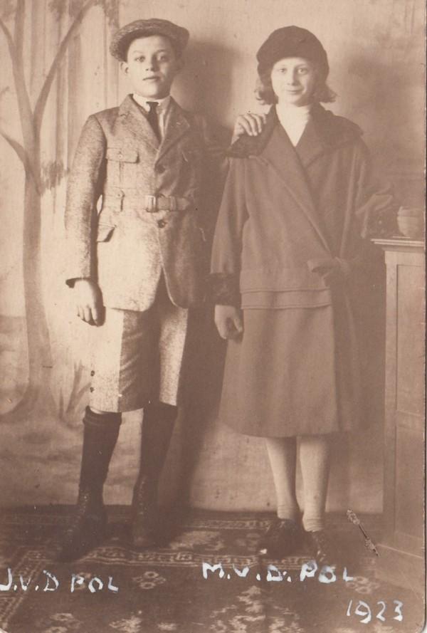 Foto  Johannes Gerrit van de Pol en Maria van de Pol