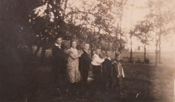 Kinderen van Gijsbertus Staal en Johanna Jongerden van oud naar jong
