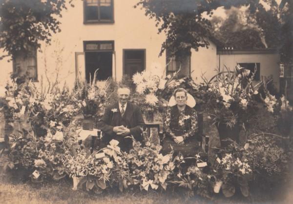 Gijsbertus Staal en Johanna Jongerden huwelijksfeest