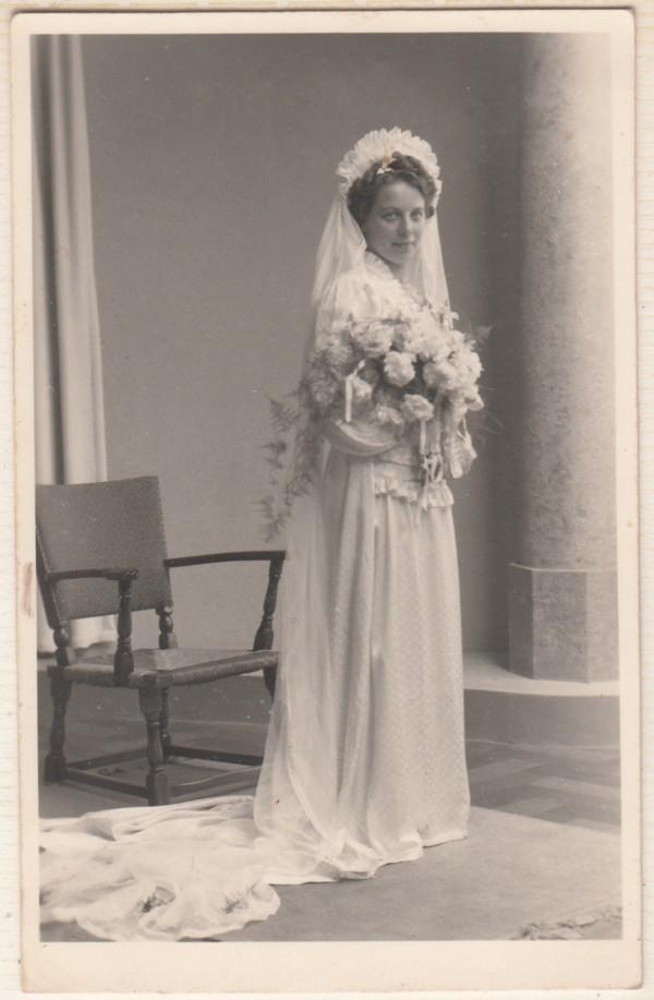 Lambertha Maria Staal trouwfoto