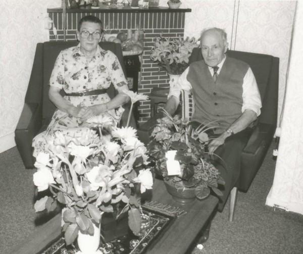 Berendina van Wijnen en Johannes Gijsbertus van der Flier