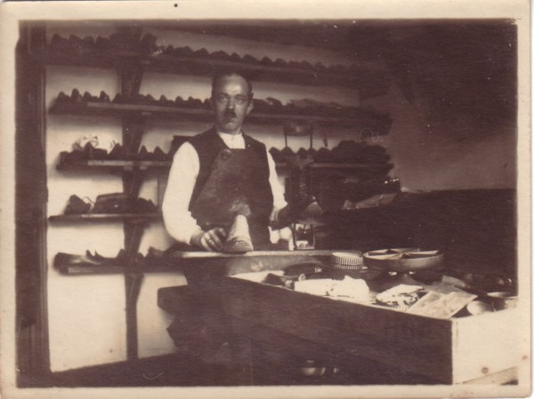 Willem van der Horst, schoenmaker