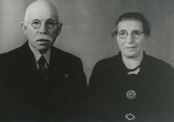 Gerard van Vliet en Jannetje van Logchem