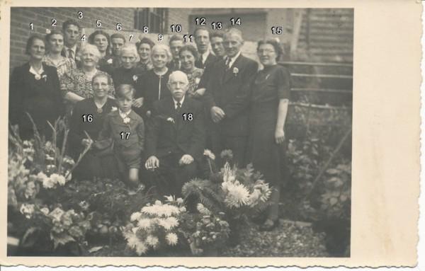 Gerard van Vliet en Jannetje van Logchem veertig jaar getrouwd