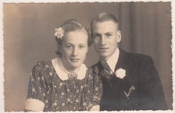 Jantje Petronella Cornelia Beerschooten en Bernardus Johannes van Oostveen