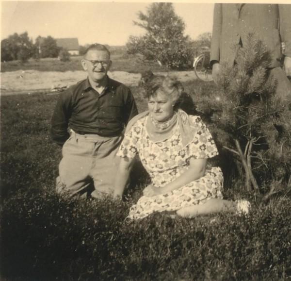 Albert van den Broek en Johanna van den Broek