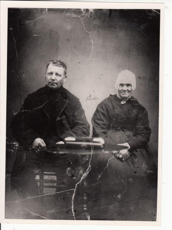 Theunis Groenesteijn en Dirkje van de Wepel