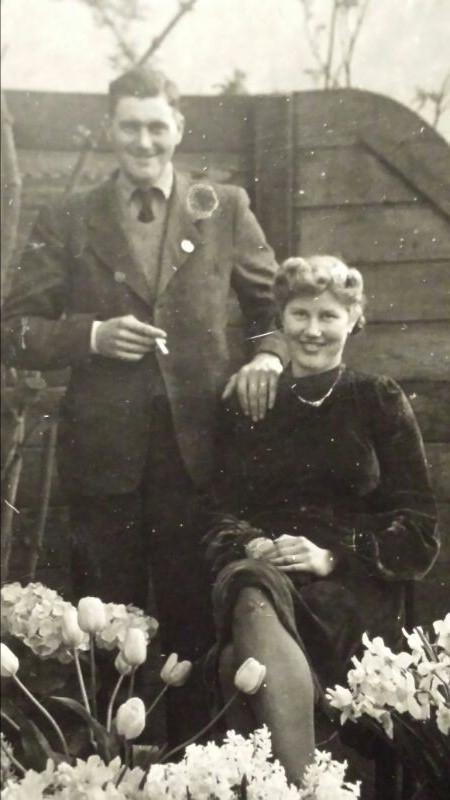 Gerrit Koenen en Johanna Hendrika Klara Voigt