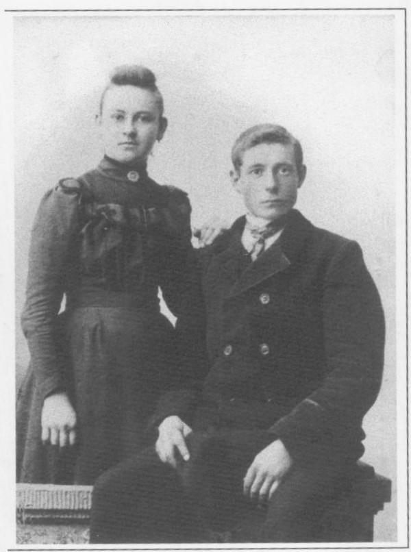 Gerritje van den Broek en Johannes Verwoerd