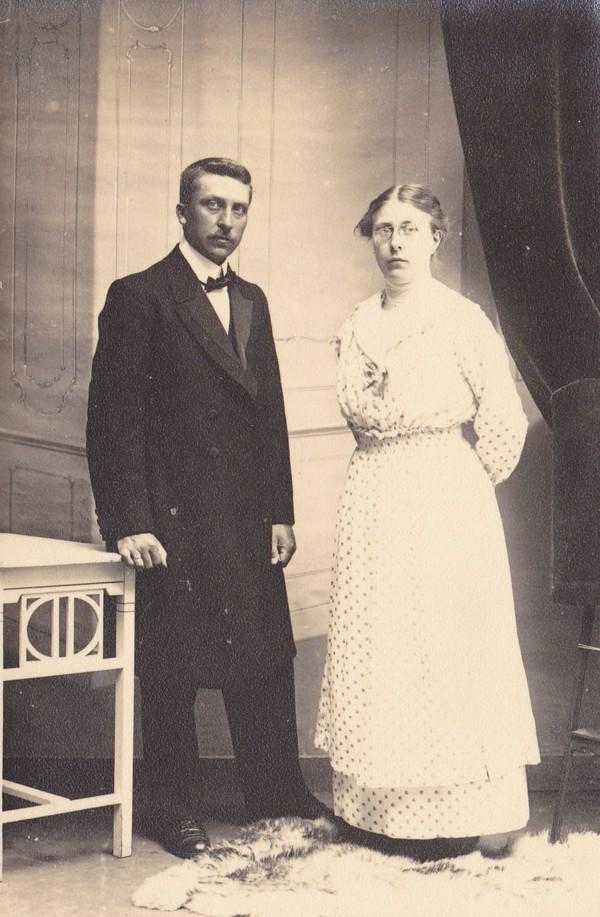 Dirk van der List en Cornelia Hendrika Smits