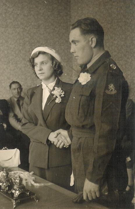 Hendrika Luijer en Marinus van Schaik