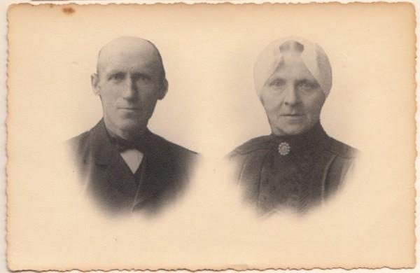 Johannes de Gier en Jannetje Hoogendoorn