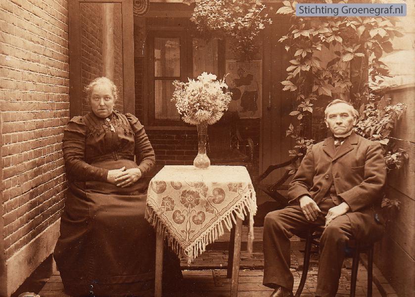 Antje Schouten en Arie Daatzelaar