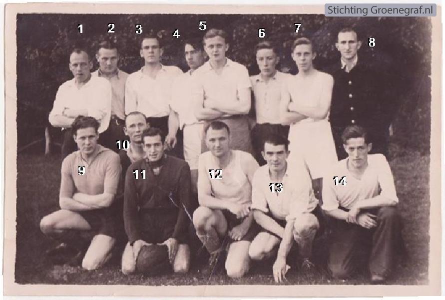 Kampioenselftal Zilgroba 1948