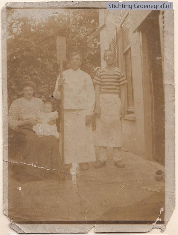 Ida Anna Suzanna Peterse, dochter Jannetje Hendrika de Gier, Dirk de Gier en Nn