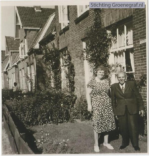 Gijsbertha van der Horst en Hendrikus Versteeg