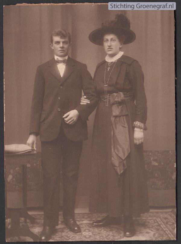 Gerrit Johannes van Paridon en Hendrika van den Tweel
