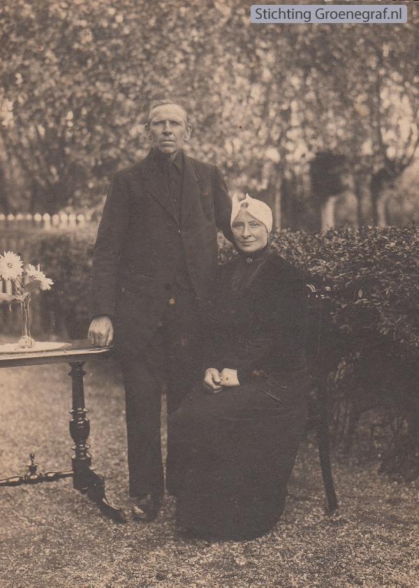 Klaas van Oosterom en Janna Sophia Boele
