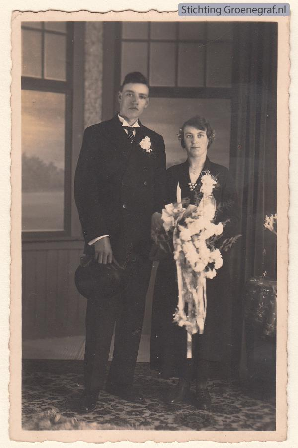 Jacob van Oosterom en Elisabeth Constantia Mulder