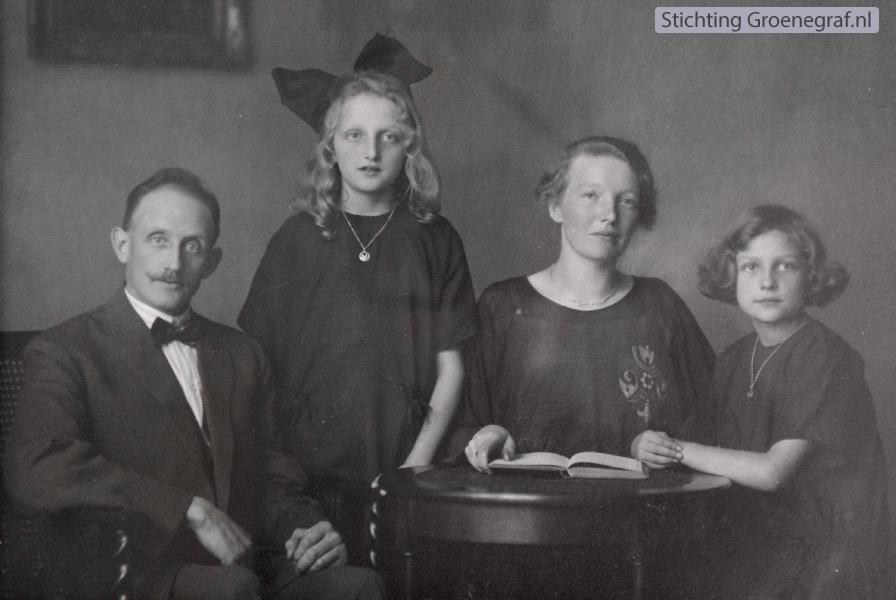 Gezin Willem Kotten en Jacoba de Ruiter
