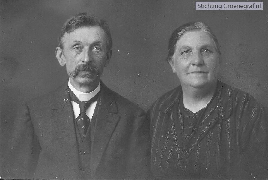 Pieter Jakobus Smits en Jannetje van der Veen