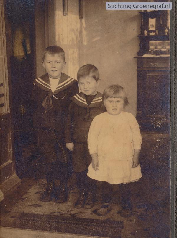 Kinderen Willem van Gelder en Matje de Vink