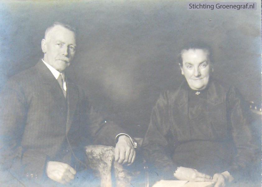 Jan Roskamp en Trijntje Kok
