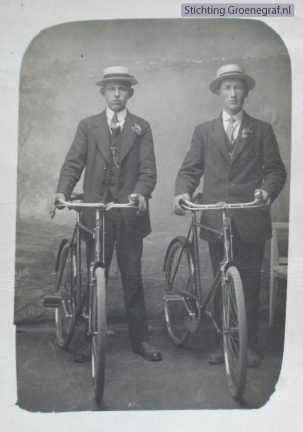 Johannes Hornsveld en Barend Bleijerveld