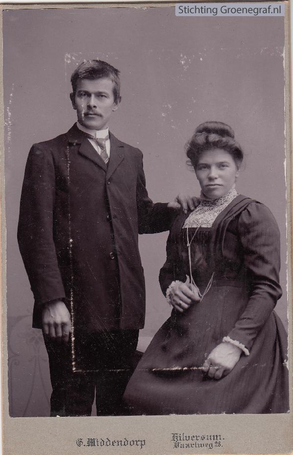 Peter Jacobus Hendriksen en Neeltje Muis