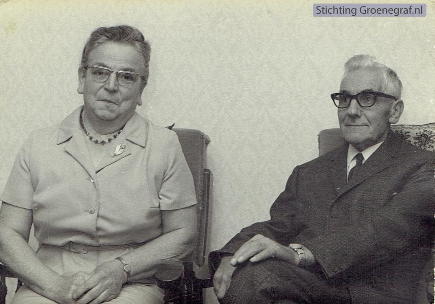 Evertje Woudenberg en Hendrikus van de Veen