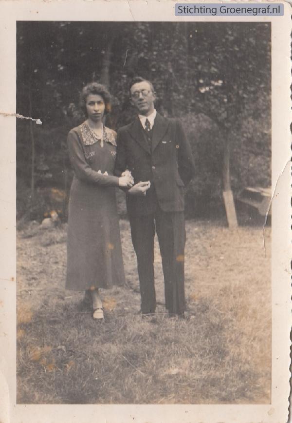 Teunisje Willigenburg en Willem de Greef
