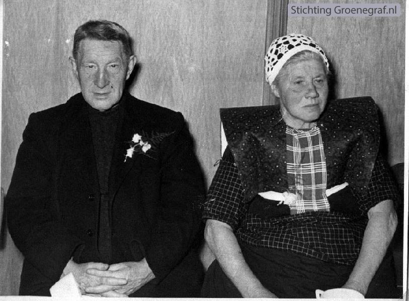 Jan de Graaf en Gerritje Bos