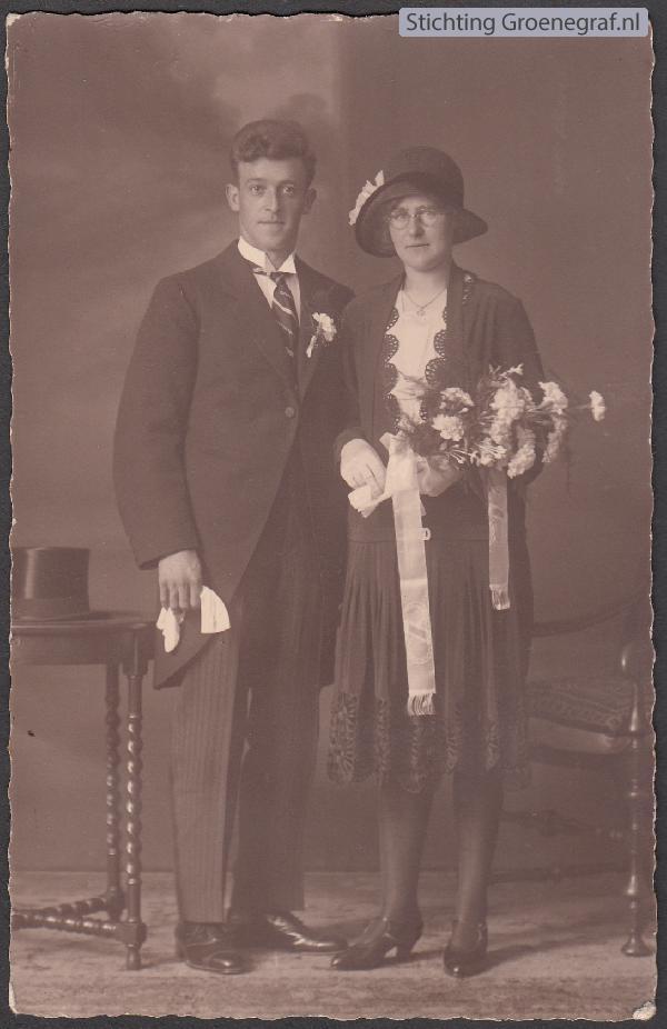 Wilhelmus Hendrikus Onwezen en Wilhelmina Hool