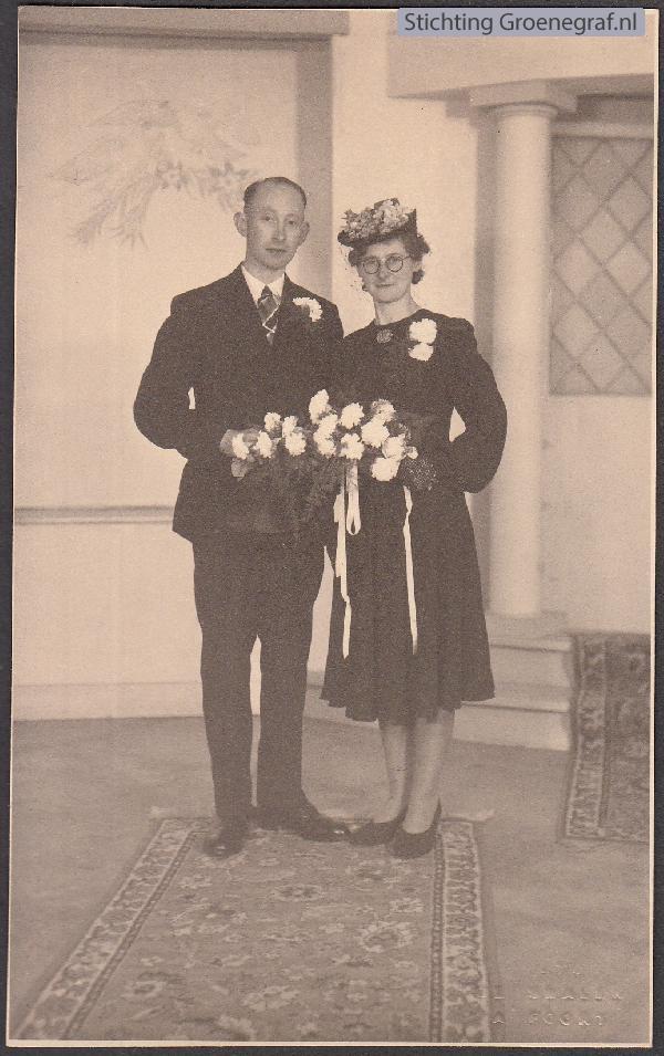 Jacobus Nicolaas de Wijs en Theodora Hool