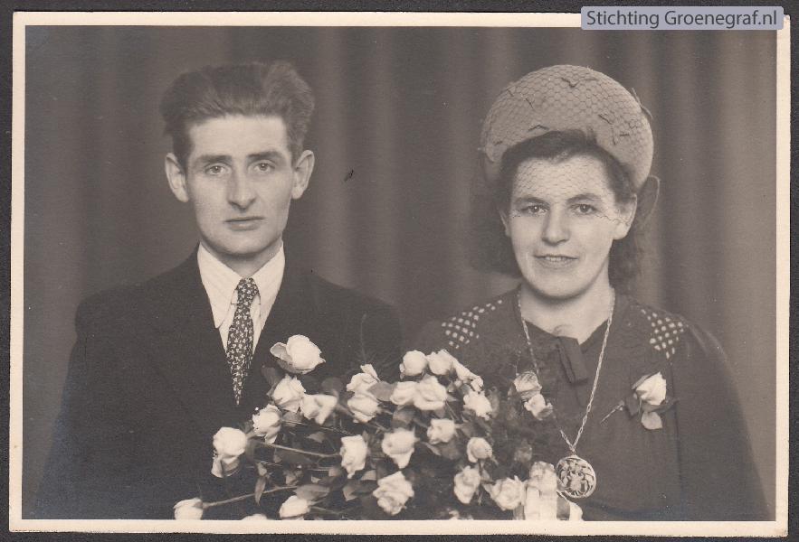 Gerrit Gieskens en Maria Johanna Klerks