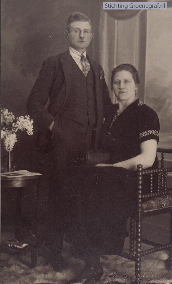 Lambertus Hool en Martha Frieda Rüsenberg