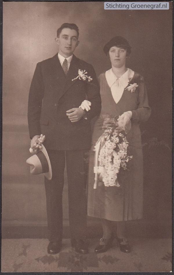 Pieter Cosijnse en Everdina Barbara Daselaar