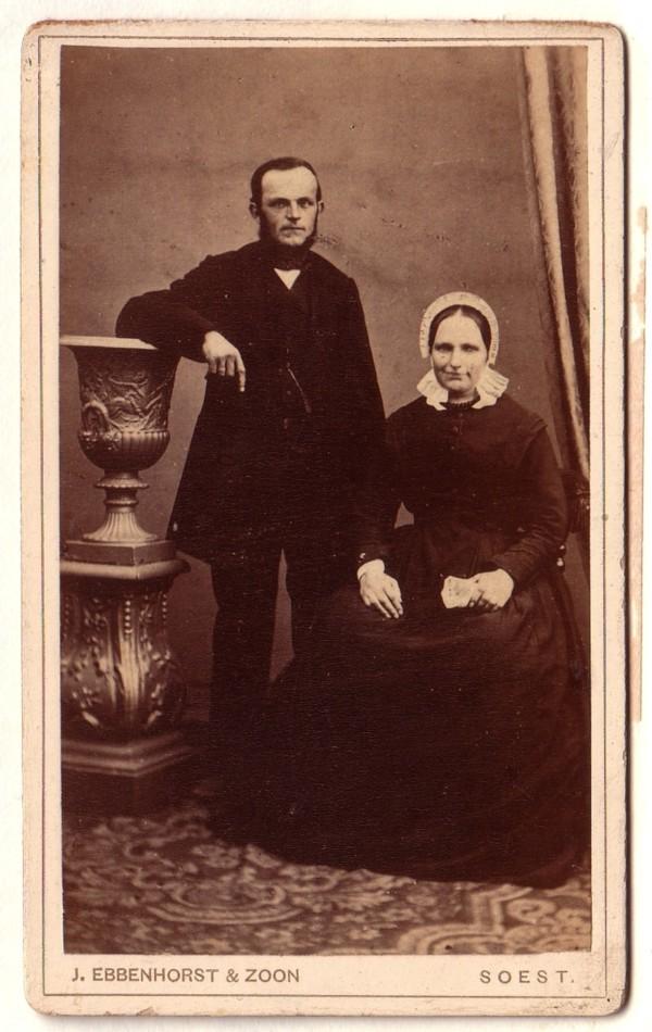 Foto  Nicolaas Hornsveld en Maria de Ruig