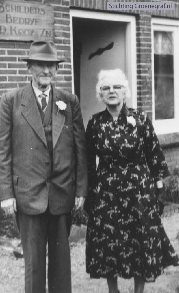 Roelof Kooij en Johanna Veldman