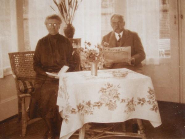 Annalida Jacoba Ploeg en Johannes Wilbrink