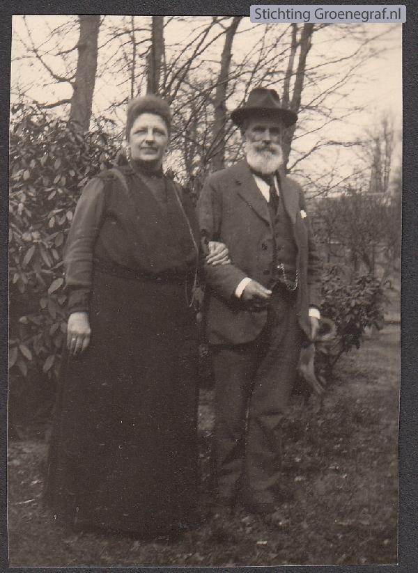 Diederica Wilhelmina Margaretha Pos en George Lodewijk Hasseleij Kirchner