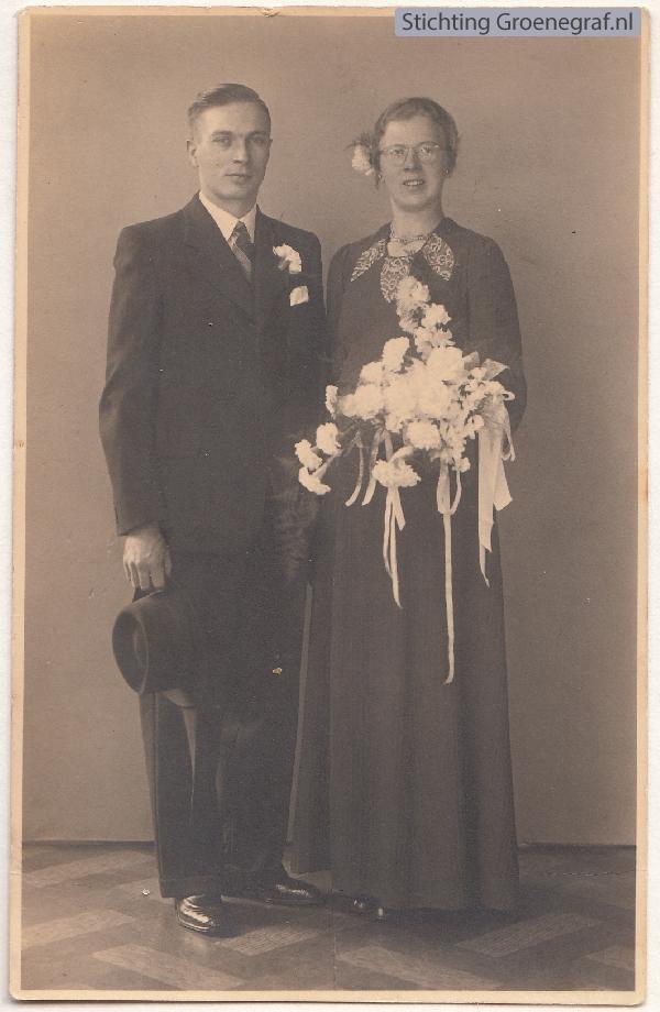 Simon Johannes Jacobus Bakker en Alida Bertha van Buuren