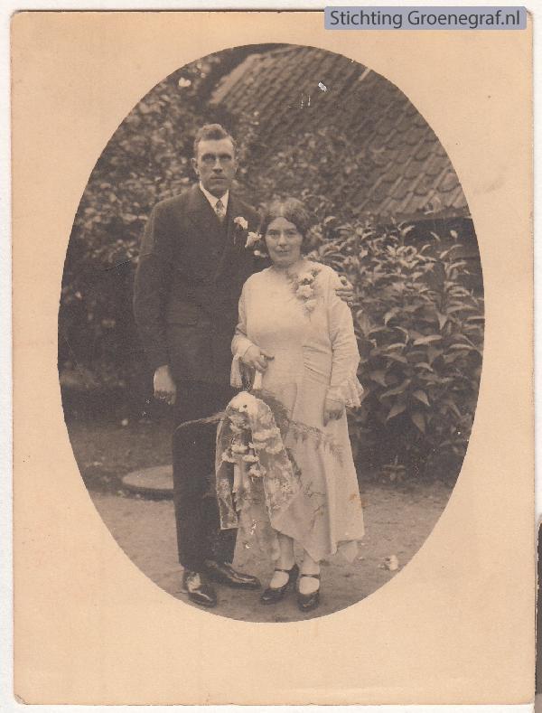 Johannes Matthijs Benjamin Bakker en Geertruida Wilhelmina Hagedoorn