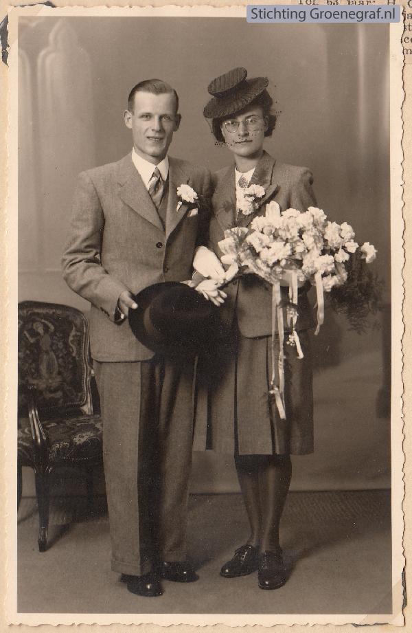 Arie de Ruijter en Maria Cornelia van der List