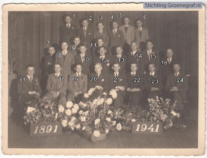 Foto  Hervormde Mannenvereniging (waarschijnlijk)